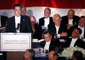 Обама и Ромни обменялись ироничными шутками