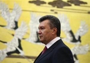 Янукович считает, что вопрос об изменении срока полномочий Президента должны решать граждане