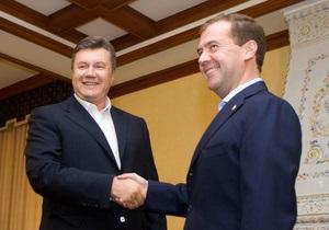 Киев и Москва обсуждают  принципиальные договоренности  Януковича и Медведева