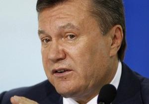Янукович вылетел с визитом в Китай