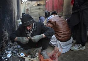 Героин - экспорт героина - наркотическая зависимость - Афганистан из экспортера героина стал потребителем №1