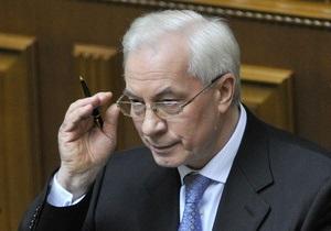 Азаров увидел трудности в российско-украинских переговорах о судостроительном СП