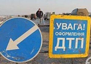 На Волыни Mercedes столкнулся с автобусом, перевозившим российских паломников