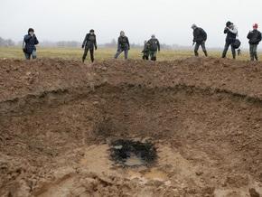 Латвийский ученый: Воронку, образовавшуюся  после падения метеорита , вырыли лопатами