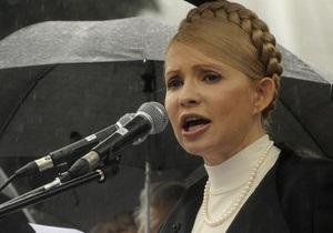 Тимошенко заявила о намерении власти отсрочить президентские выборы