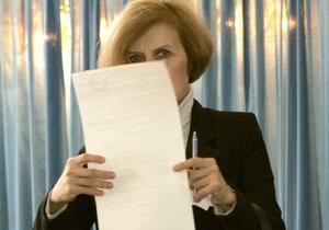Из-под печатного станка вышли первые бюллетени для президентских выборов