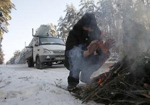 Фотогалерея: Утепляйся кто может. В Украину пришли рекордные холода