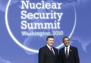 В Нашей Украине считают, что Янукович в США сдал национальные интересы Украины
