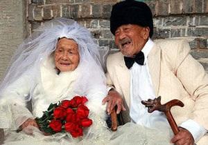Семейная пара из Китая сделала фото для свадебного альбома после 88 лет брака