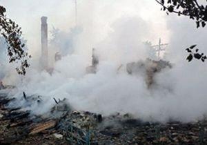 В Житомирской области сгорела школа