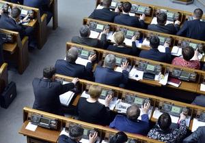 Составлен рейтинг активности депутатов Рады за апрель: лидируют УДАР и Батьківщина