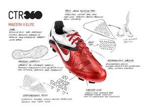Nike представляет новые футбольные бутсы CTR360 Maestri II серии Elite