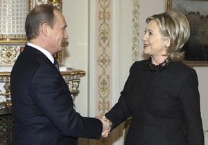 Путин рассказал Клинтон об отношениях с Украиной, употребляя  яркие слова