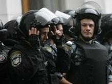 Беркут спас гаишников, которых избивали жители Буковины