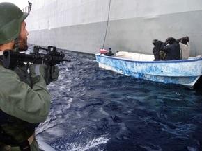 Немецкий фрегат потопил две пиратские лодки
