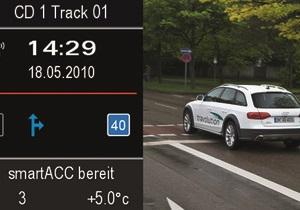 Машины Audi научили  общаться  со светофорами
