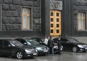 Корреспондент: Украина в сотни раз опережает страны Европы по числу служебных автомобилей