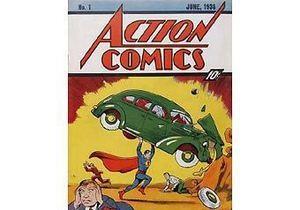 Экземпляр первого комикса о Супермене продан за рекордную сумму в миллион долларов