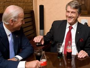 Ющенко и Байден договорились о создании комиссии по стратегическому партнерству