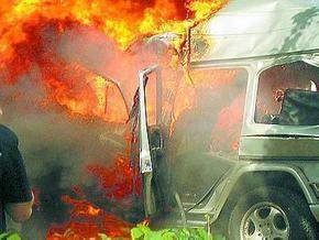 В Житомире взорвали джип депутата