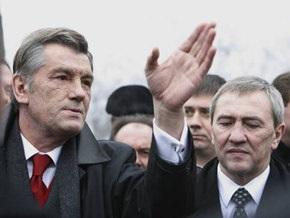 Ющенко уклонился от ответа на вопрос о Черновецком