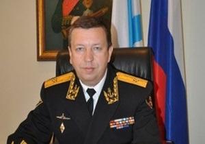 В Крыму представили нового командующего Черноморским флотом