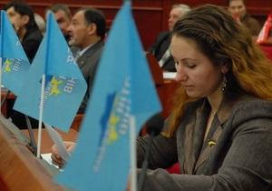 Регионалы требуют от Черновецкого список голосовавших за передачу киевских земель в частную собственность