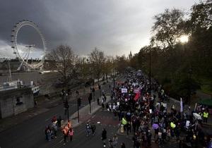 Фотогалерея: Бастуют все. В Британии прошла крупнейшая акция протеста бюджетников