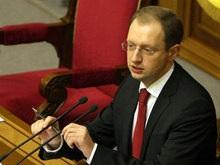 Яценюк предостерег Тимошенко от подписания универсала