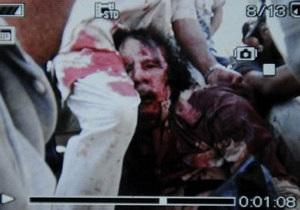 Аль-Джазира показала фотографию мертвого Каддафи