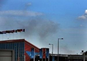В Лондоне произошел крупный пожар: с огнем борются более 200 пожарных