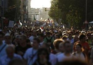 Демонстранты заблокировали выход из парламента в Софии: министры не могут покинуть здание