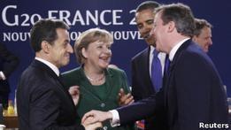 Лидеры Большой двадцатки решают долговой кризис еврозоны