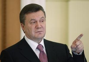 Янукович будет требовать дефицит госбюджета до 3,5% ВВП