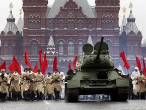 Фотогалерея: Исторический парад в Москве
