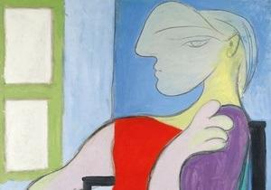 Портрет  золотой музы  Пикассо ушел с молотка за 45 млн долларов