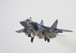 Названа предварительная причина крушения российского МиГ-31