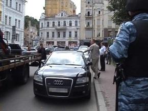 МВД: Сотрудники госохраны угрожали убийством нардепу Бородину