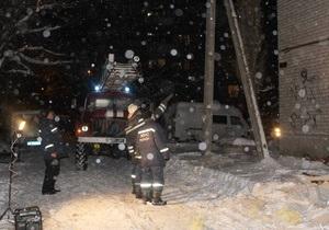 Взрыв газа в Стаханове: взрывная волна выбила более 200 окон