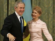 Буш и Тимошенко поговорили о газе и зоне свободной торговли