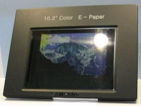Samsung представила электронную бумагу с функцией видео