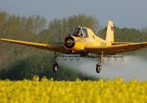 В Черниговской области разбился одноместный самолет, погиб пилот