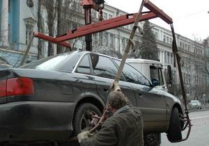 Власти намерены вернуть на киевские дороги эвакуаторы