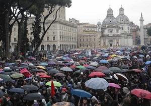 В Италии проходят массовые уличные протесты студентов