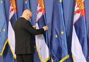 Сербия получила статус кандидата в члены Евросоюза