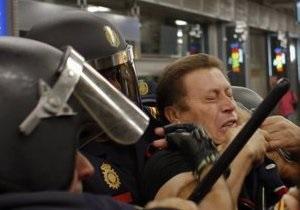 Молодежь, не попавшая на фестиваль MTV в Мадриде, устроила беспорядки: 60 раненых
