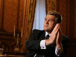 Ющенко назвал реальный показатель падения ВВП