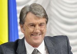 Ющенко поучаствовал в новом спецпроекте Демократия по-украински