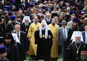 Патриарх Кирилл: РПЦ не посягает на суверенитет Украины