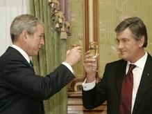 Ющенко в понедельник улетает к Бушу